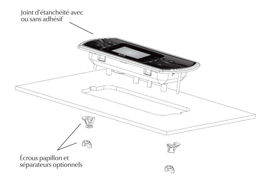 Installation du clavier in.k800