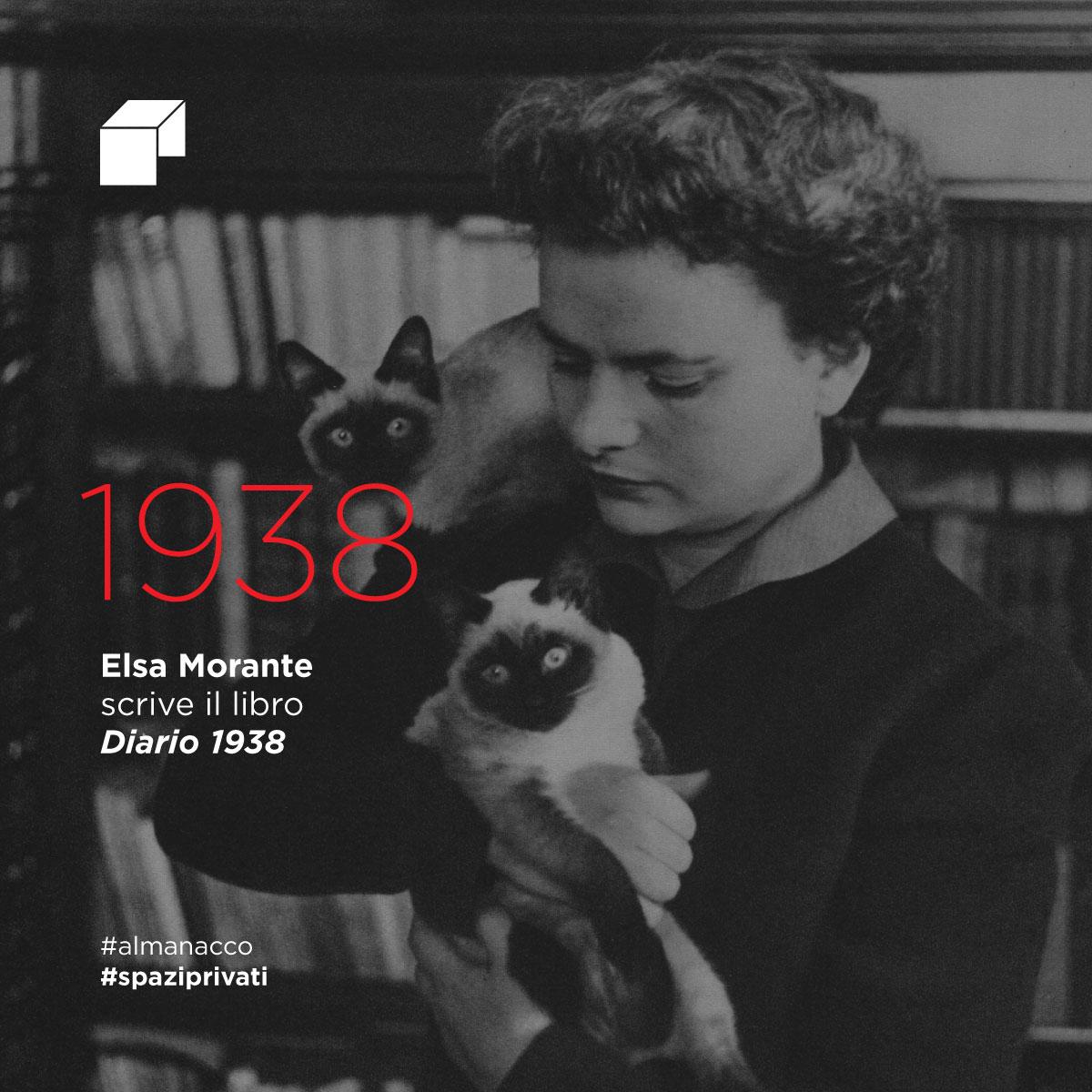 Elsa Morante scrive il libro Diario 1938