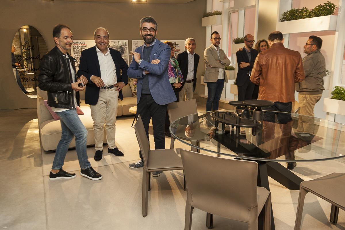 Vittorio Battaglia e Gaetano Grosso ospiti dell'evento.