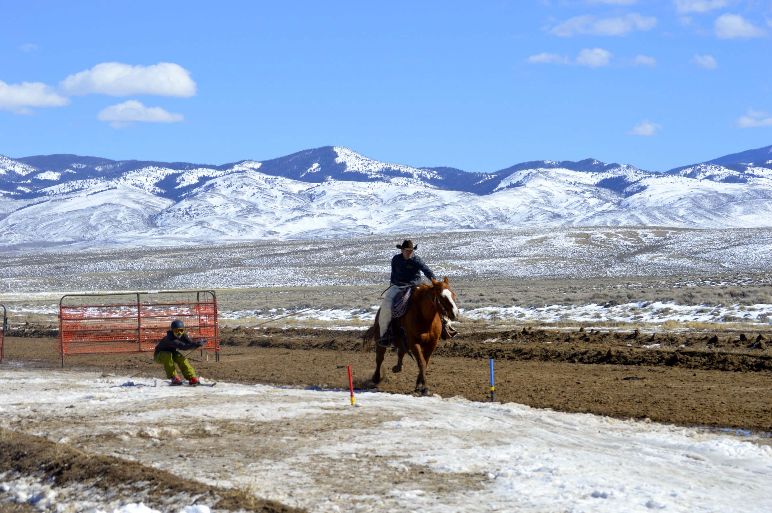 EA's Edward Jones Financial Advisor Will Faust makes his run with local rancher Kirby Berger at the helm!