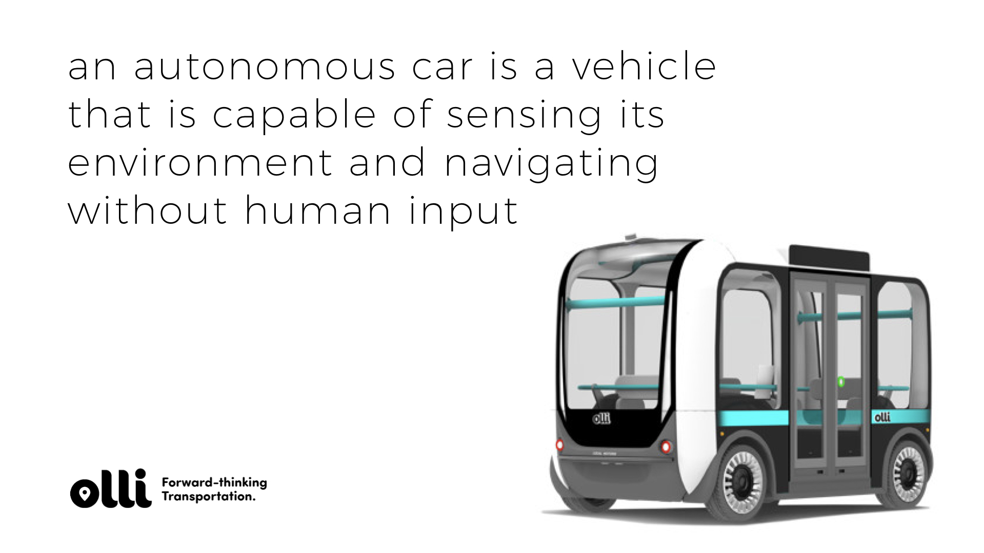 So what is an autonomous vehicle? Well. We finally have self driving cars. And they are finally getting good.