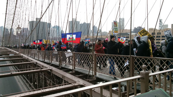 March for Immigrants,  January 19, New York City