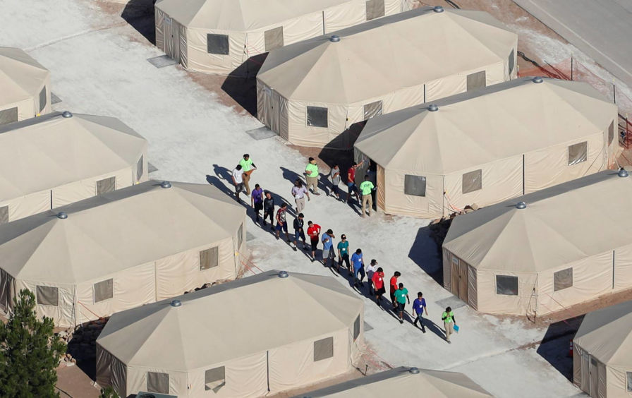 Prison camp for immigrant children