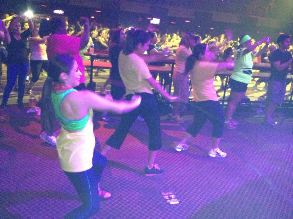 Event planning Peek: developed h-e-b's first zumbathon for the United way because we thought dancing may be more popular than a 5K. 500+ people agreed!