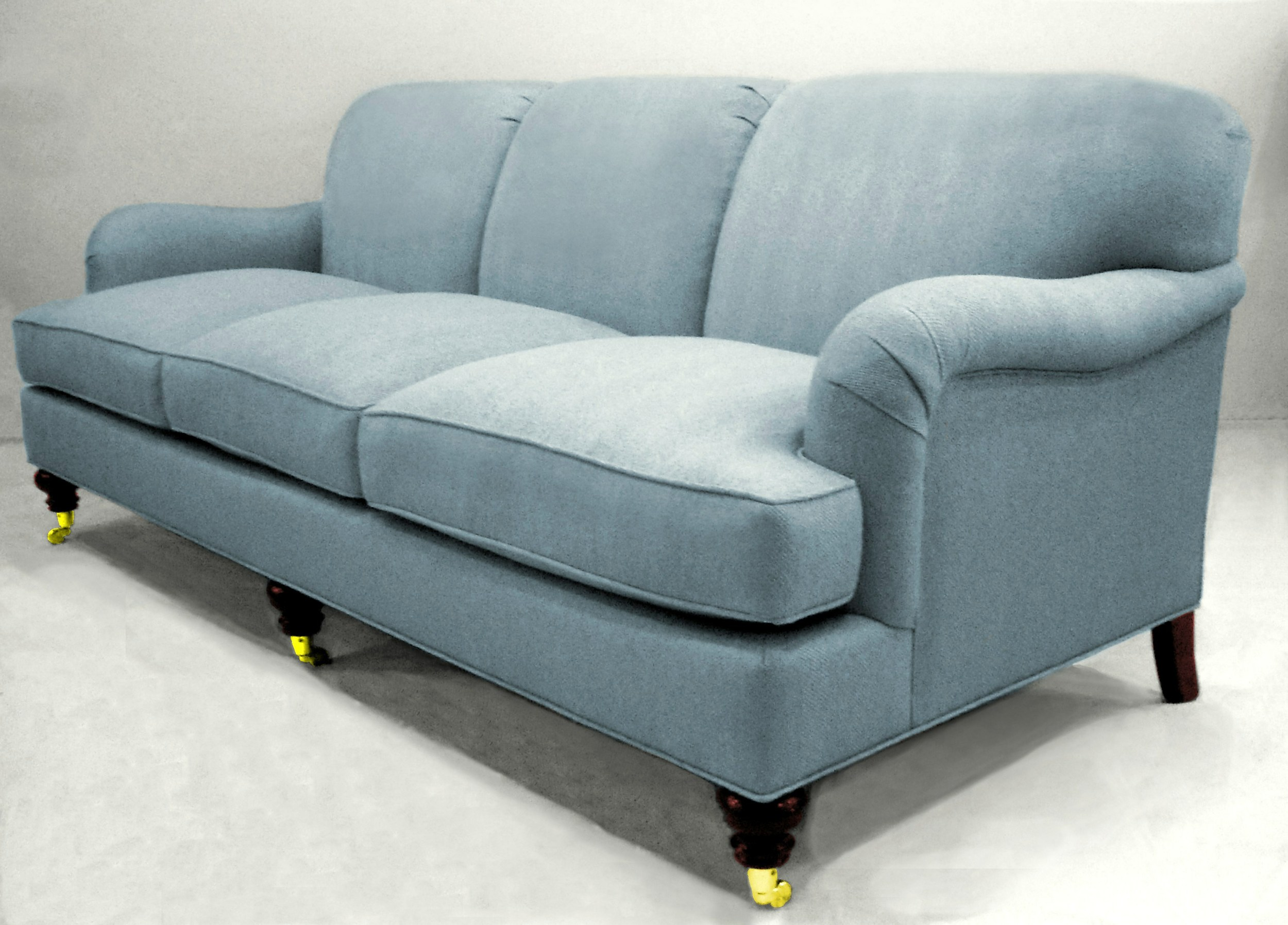 201 sofa w/casters