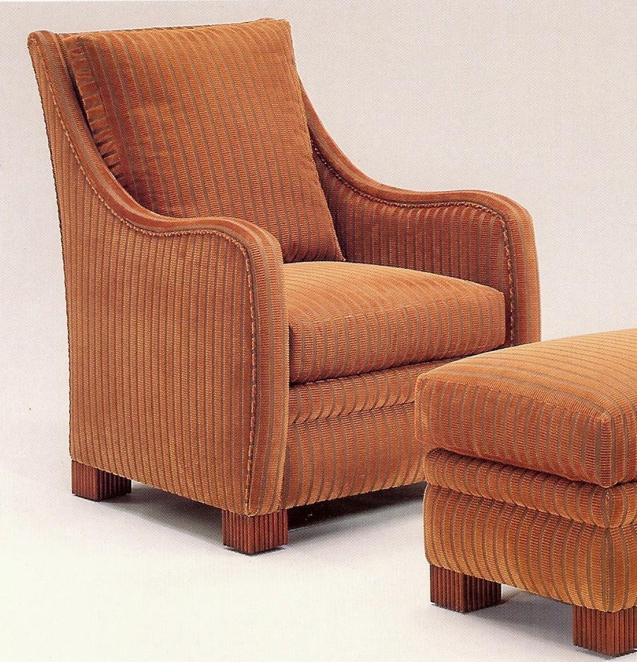 607 chair & ottoman