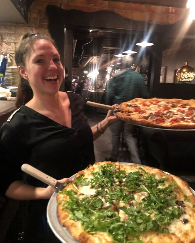 Pizza makes every hour happy.  Imagine how joyous you'll be eating half-priced pizza. Join us for happy hour from 4-5:30. - ~ - ~ - ~ - ~ - #mambo #mamboitaliano #italianfood #italiancuisine #steamboatsprings #steamboatresort #steamboatrestaurant #happyhour #steamboatmagazine #yampavalley #routtcounty #pizza #arugula #arugulaonpizza #eatmoregreens #eatpizza #eatmorepizza #pizzaislife #pizzaisbae #steamboatdining #steamboat #exploresteamboat #explorecolorado #northwestcolorado