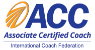 Accredited by the ICF, 2018 -