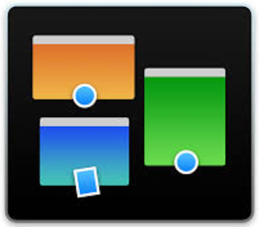 MISSION CONTROL icon ON APPLE /MAC FOUND ON THE BOTTOM MENU.