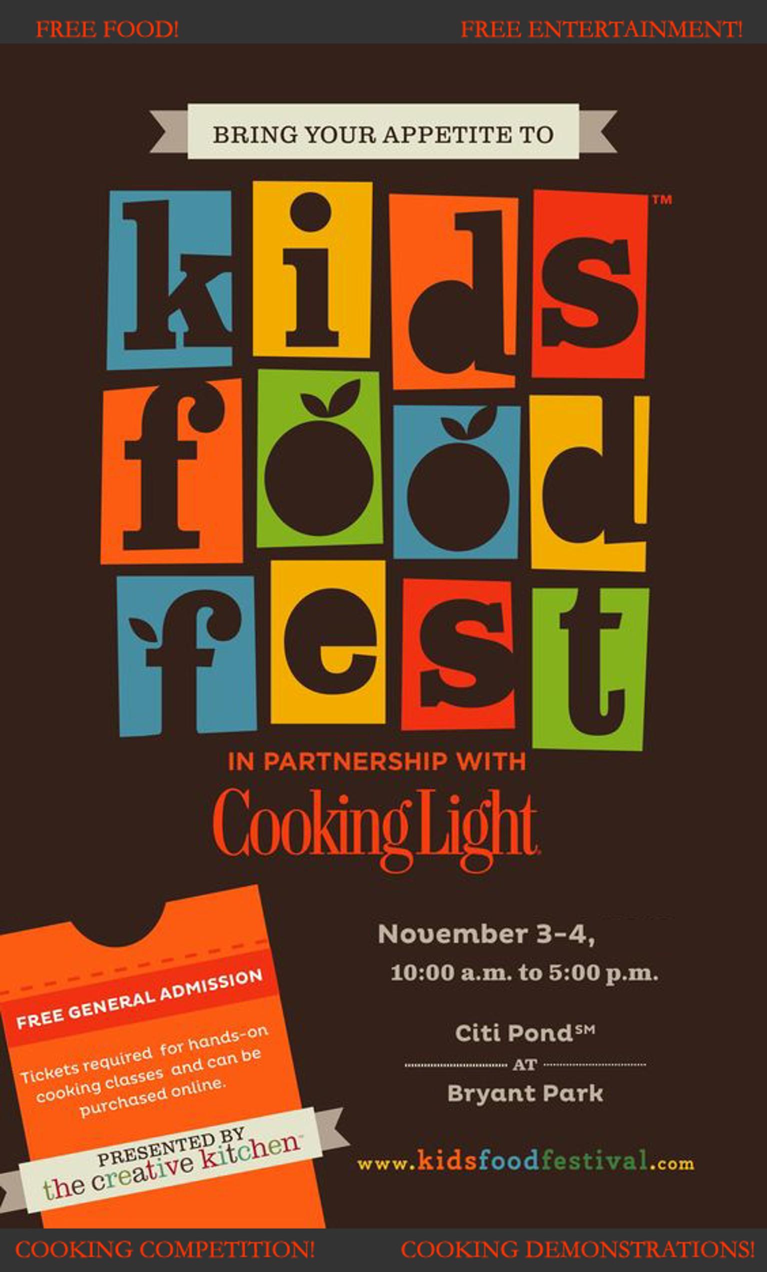 Unit F1: Kids' Food Fest -