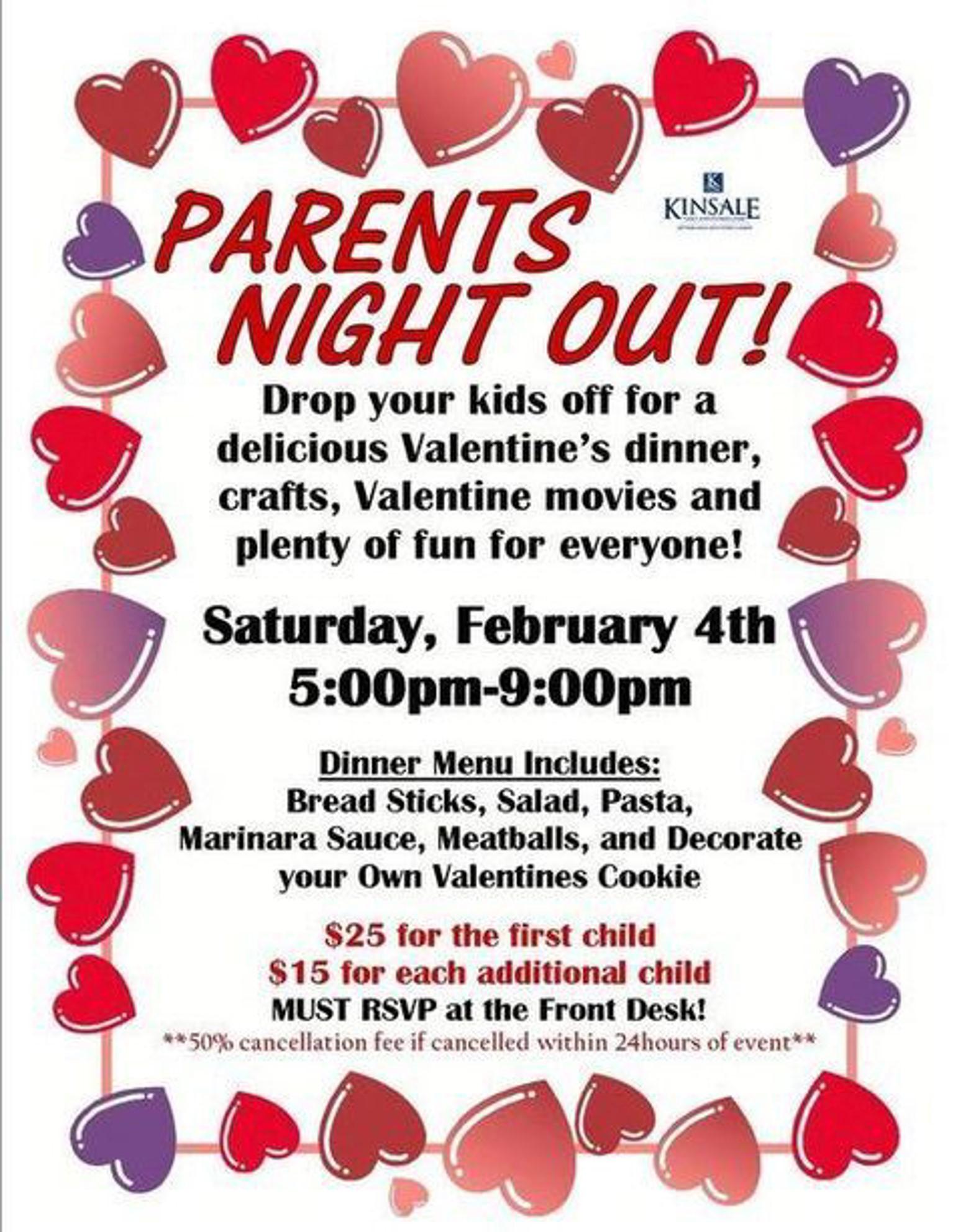 Unit F2: Parents' Night Out -
