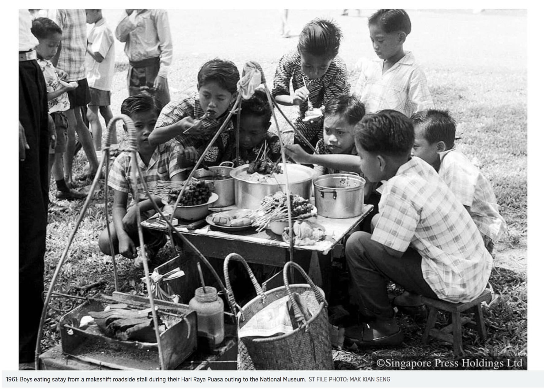 Unit A3: Satay Stall -