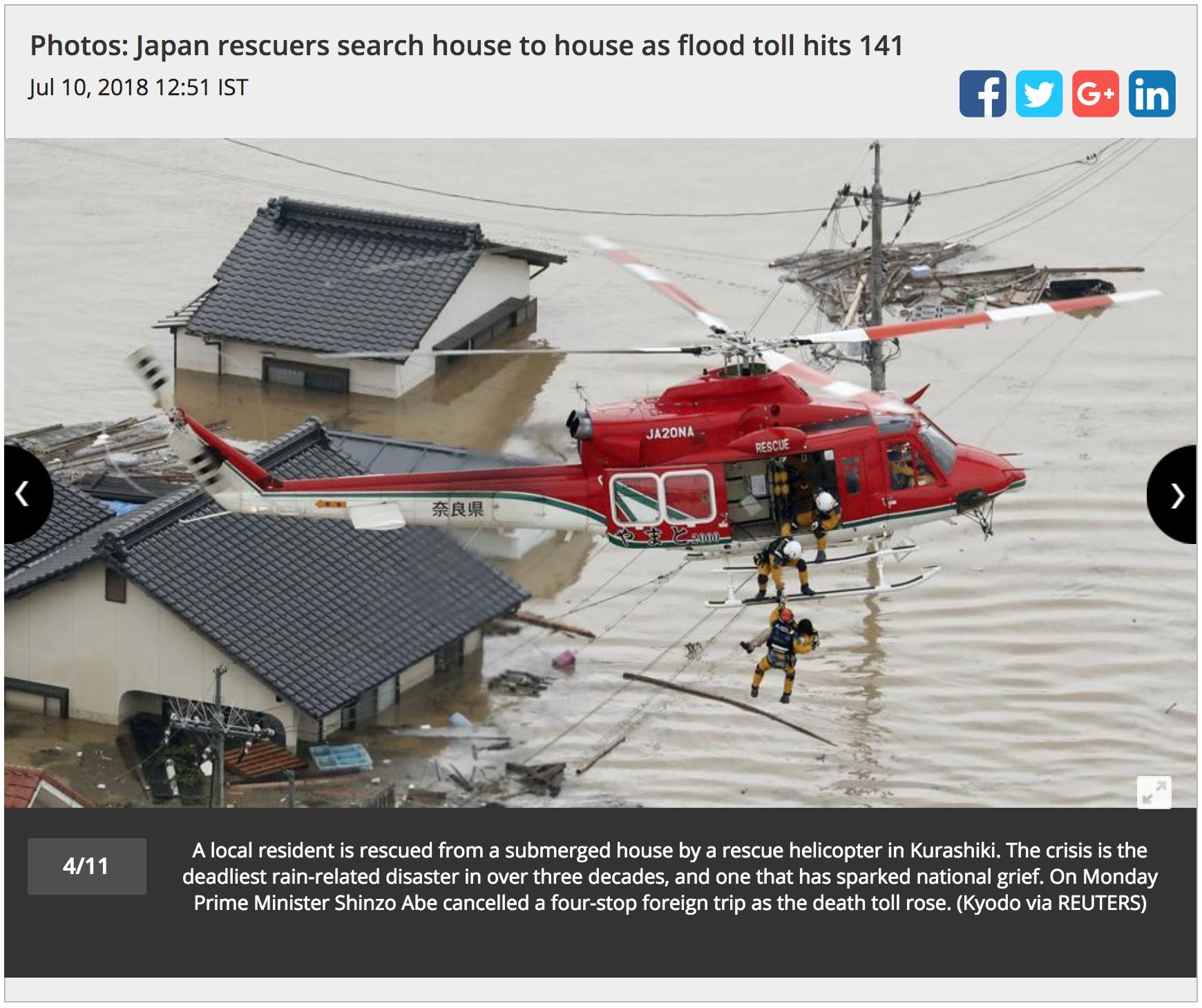 Unit A6: Japanese Flood -