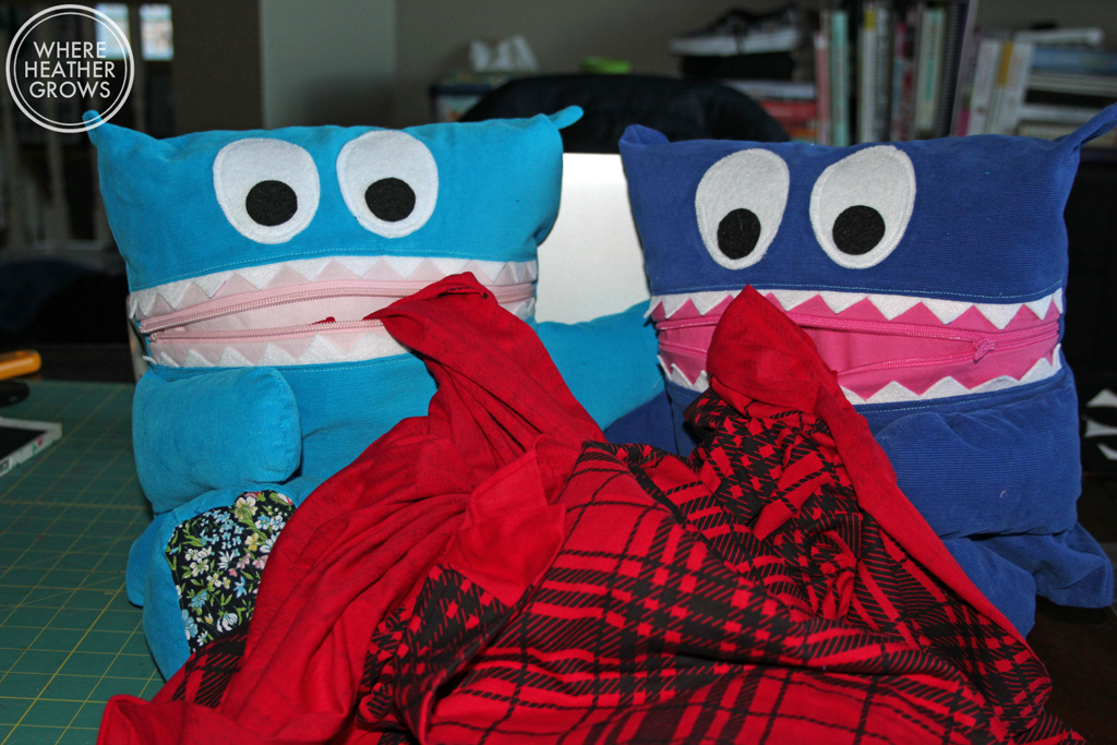 Sew Fearless PJ Eaters