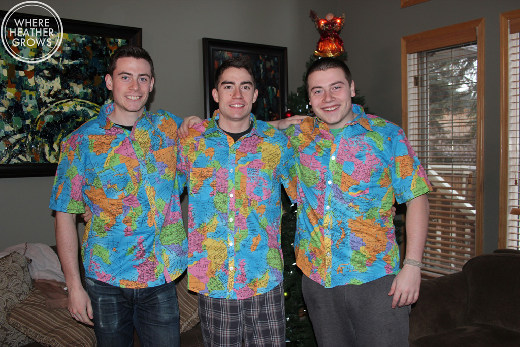 Shirts for the boys