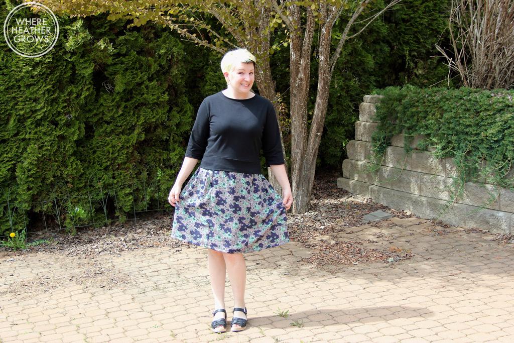 Seamwork Astoria Shirt & Bristol Skirt