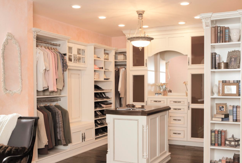 Envying this closet featured on  HGTV