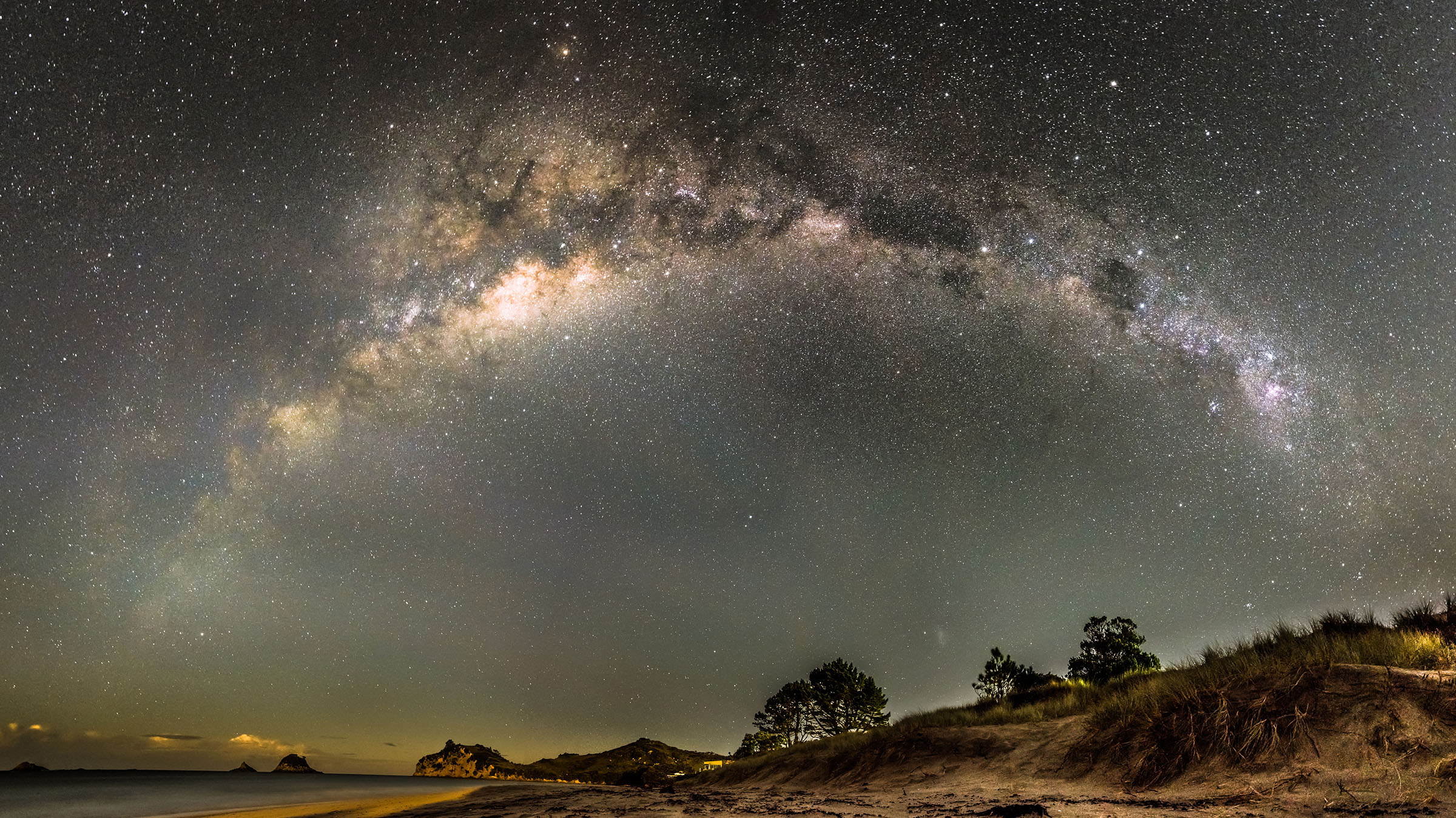 The Milky Way by Tom Hall (CC2 license)
