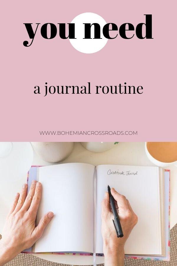 journal routine