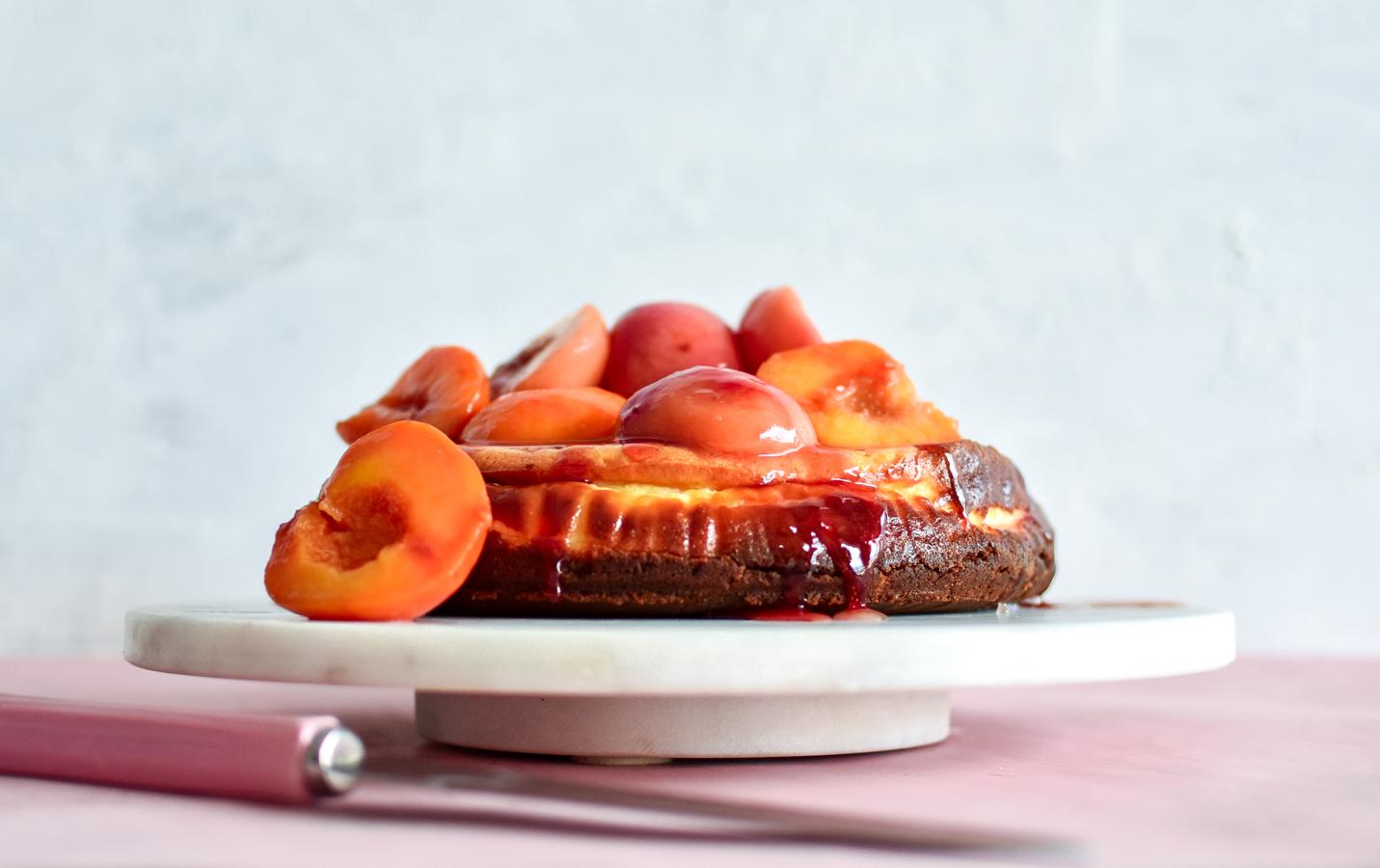 peach-ginger-cheesecake-recipe