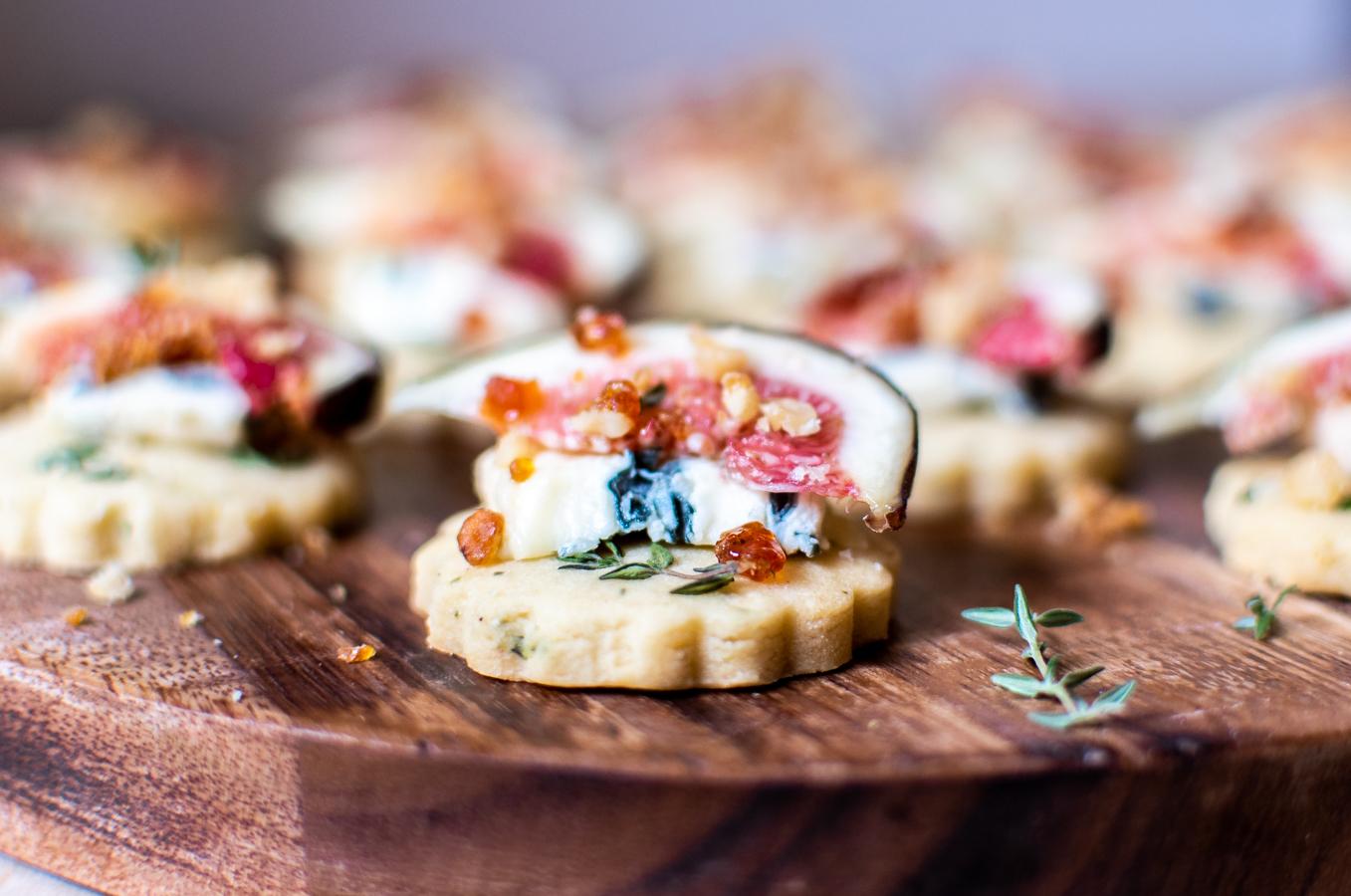 georgia-barnes-canape-recipe-fig-blue-cheese-biscuit