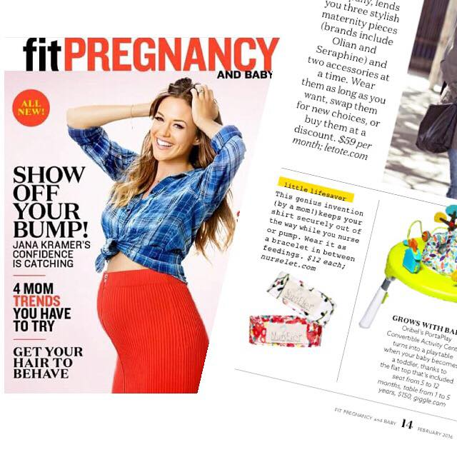 featured in Fit Pregnancy