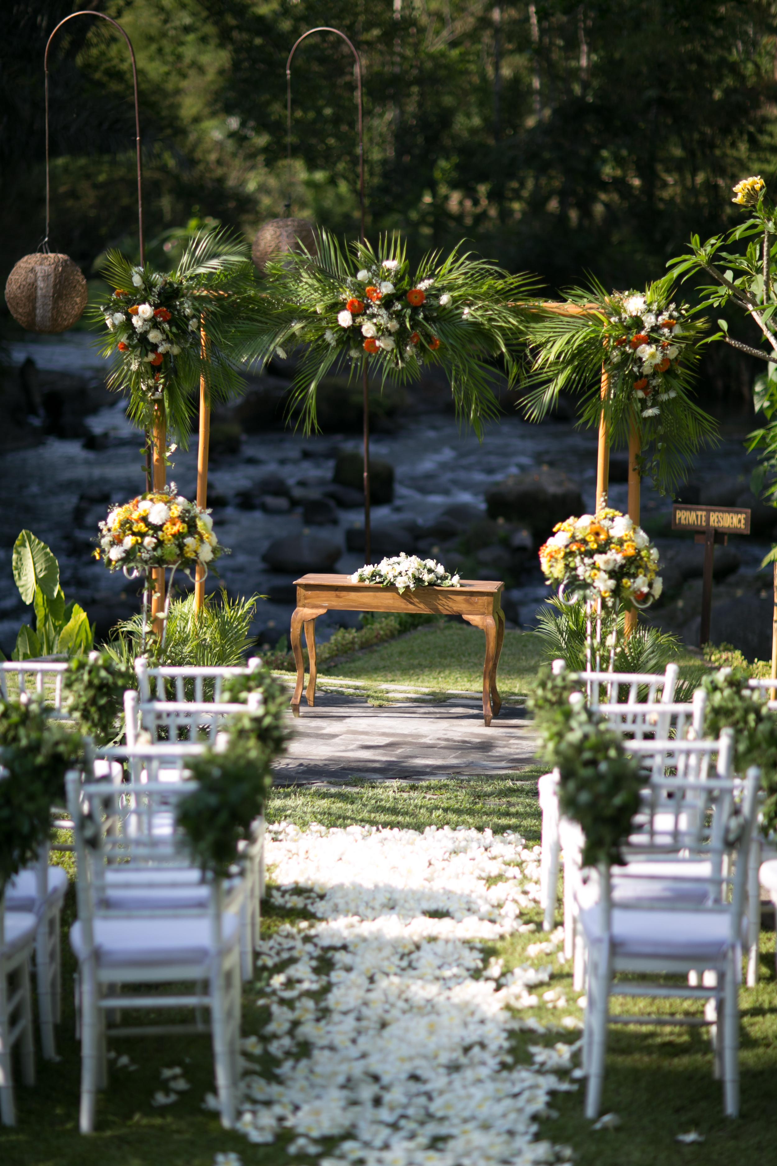 The Samaya Ubud Intimate Wedding Bali For Two Wedding Planner
