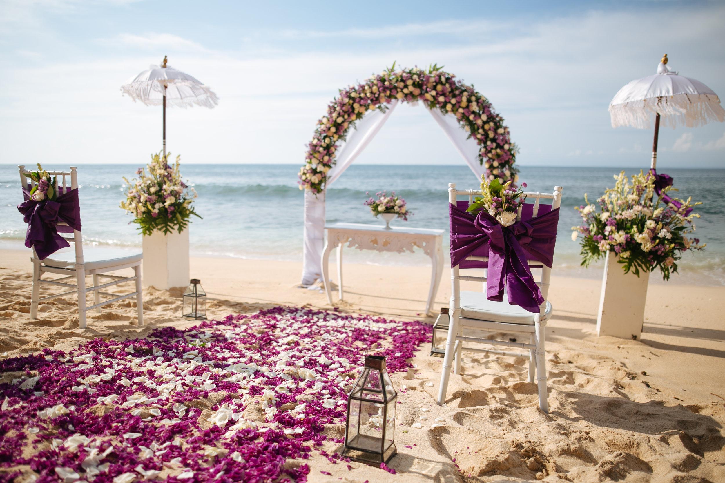Balangan Beach Wedding By Bali For Two