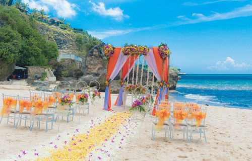 Beach Wedding Bali For Two Planner