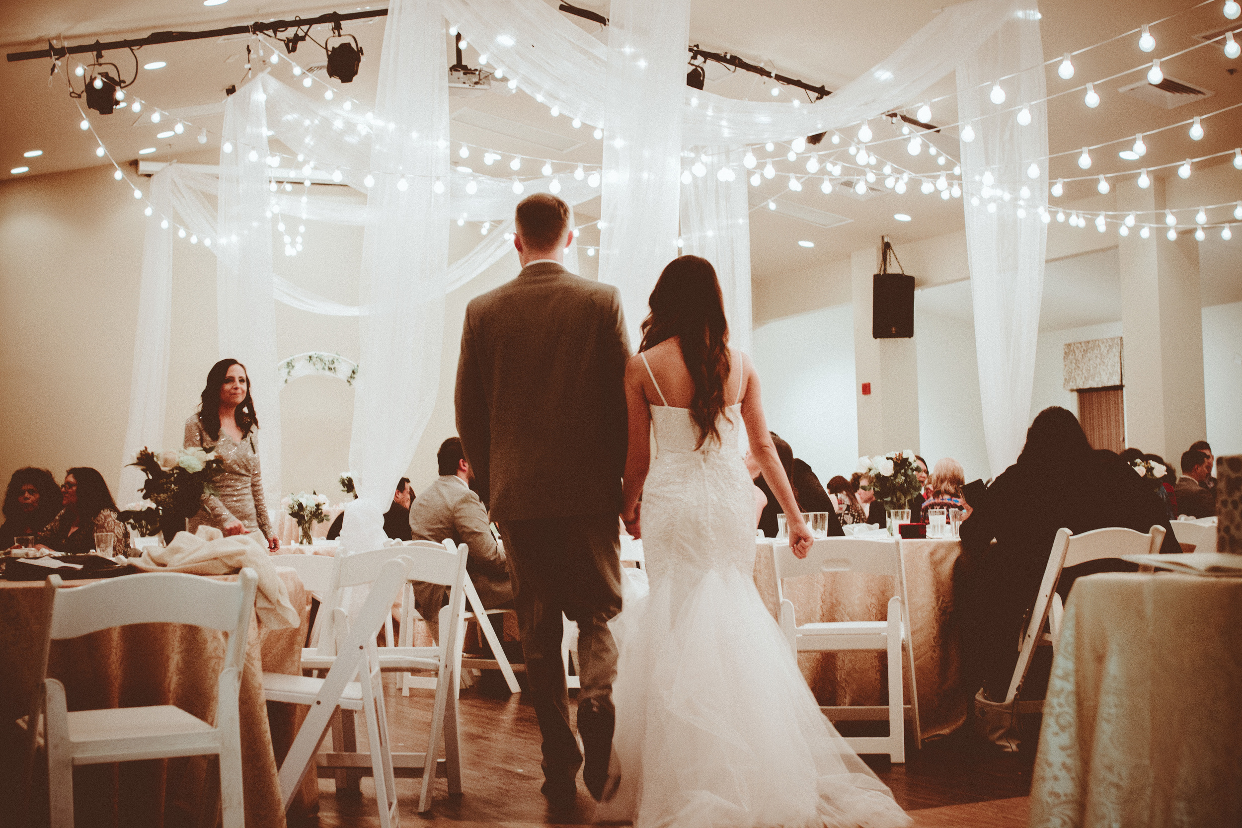film style. Jason + Miriam Stockstill. Wedding at TRC Baker, Louisiana. Images by Christi Childs the picture people LA.