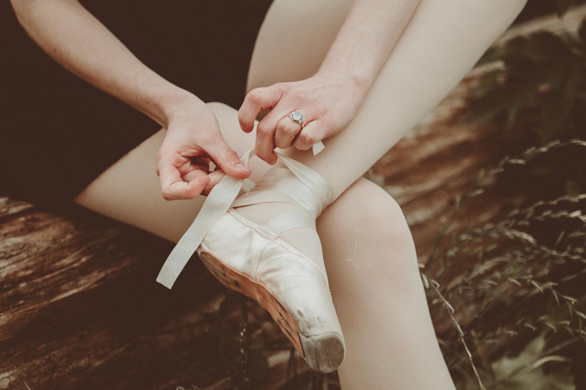 Lifestyle ballerina portrait
