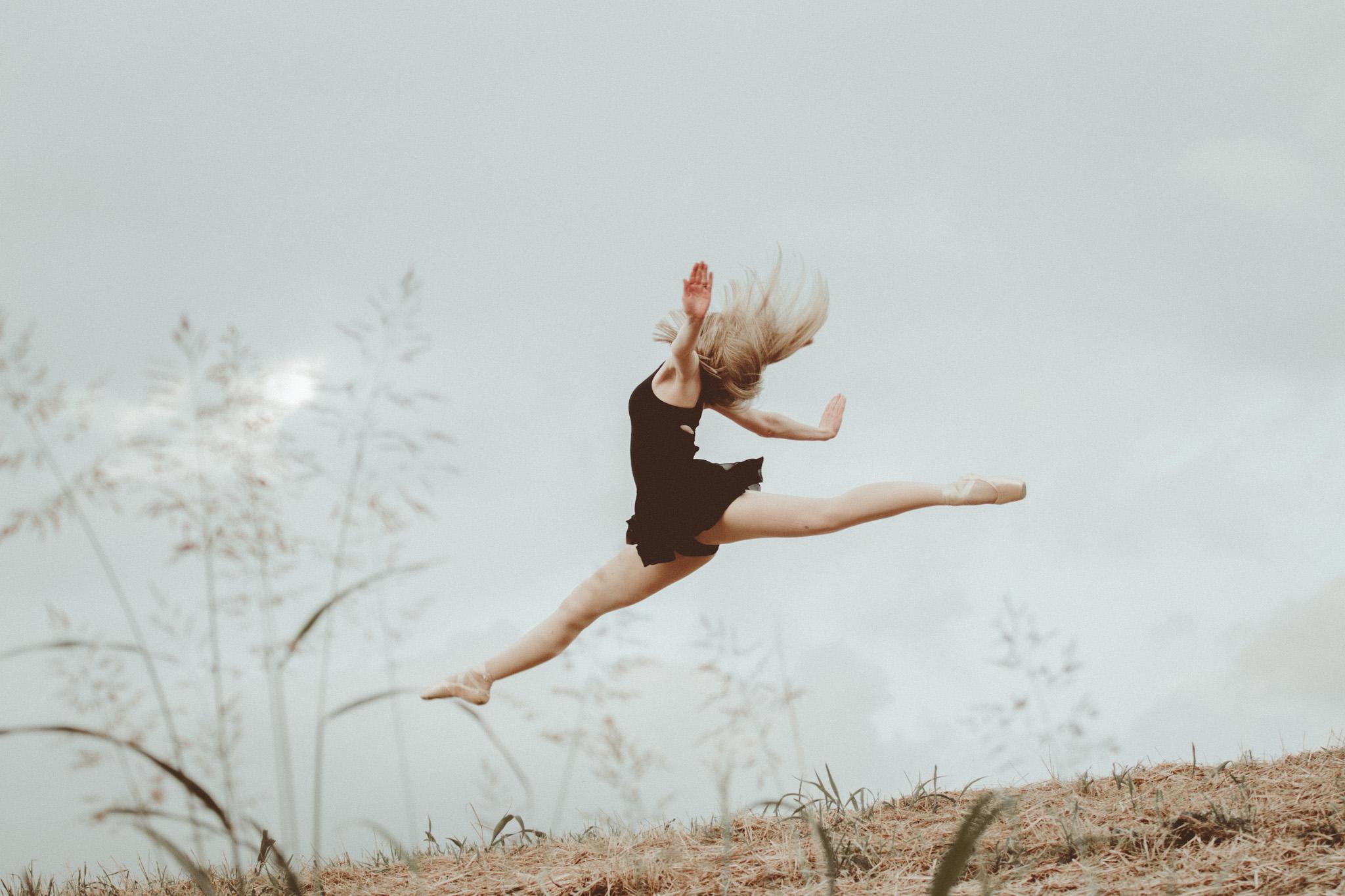 Dancer portrait downtown