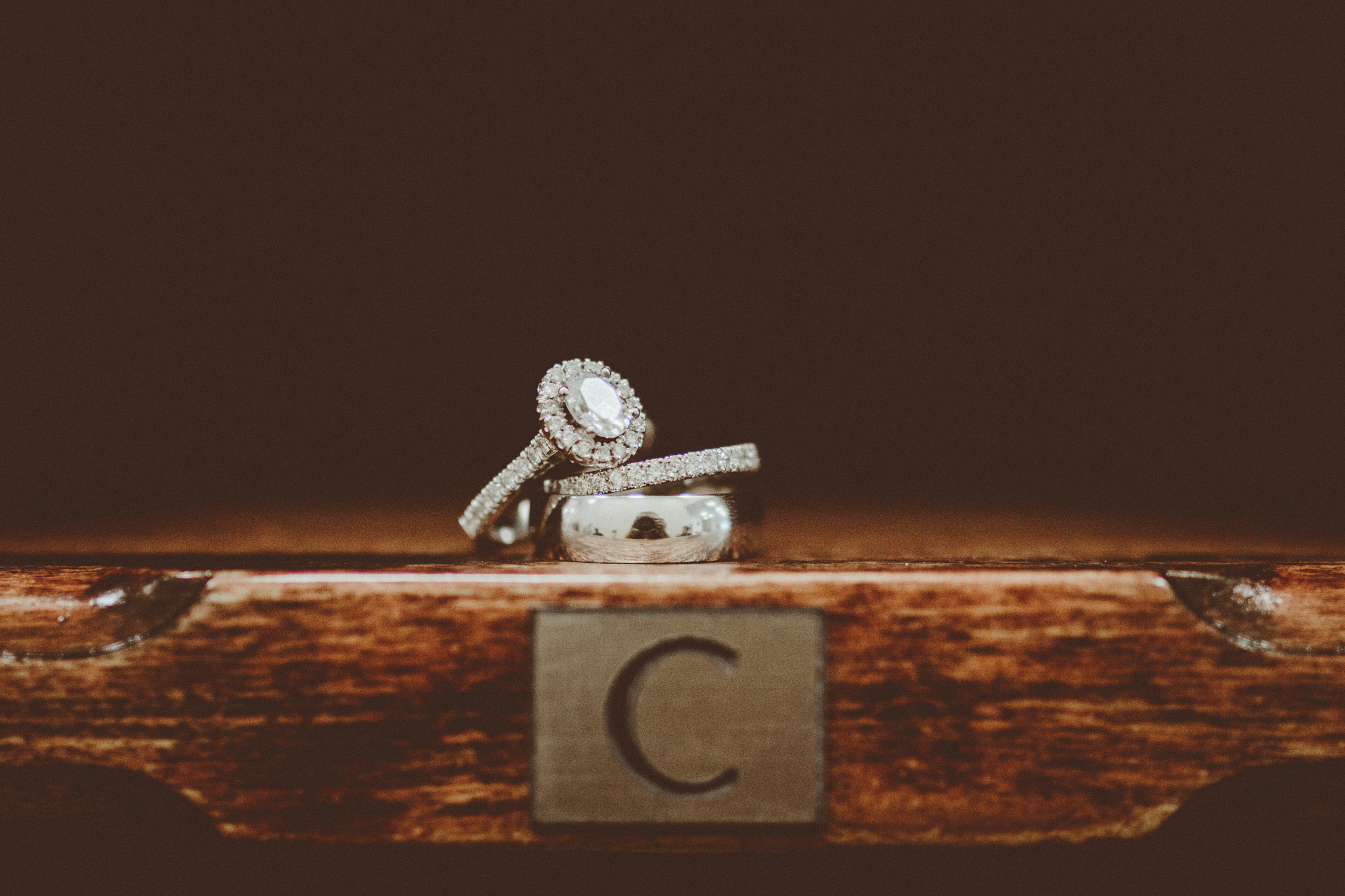 Ring Shot. Josh + Alora | Classic Denham Springs Wedding. Photos by Christi Childs with The Picture People LA photography Baton Rouge, Louisiana