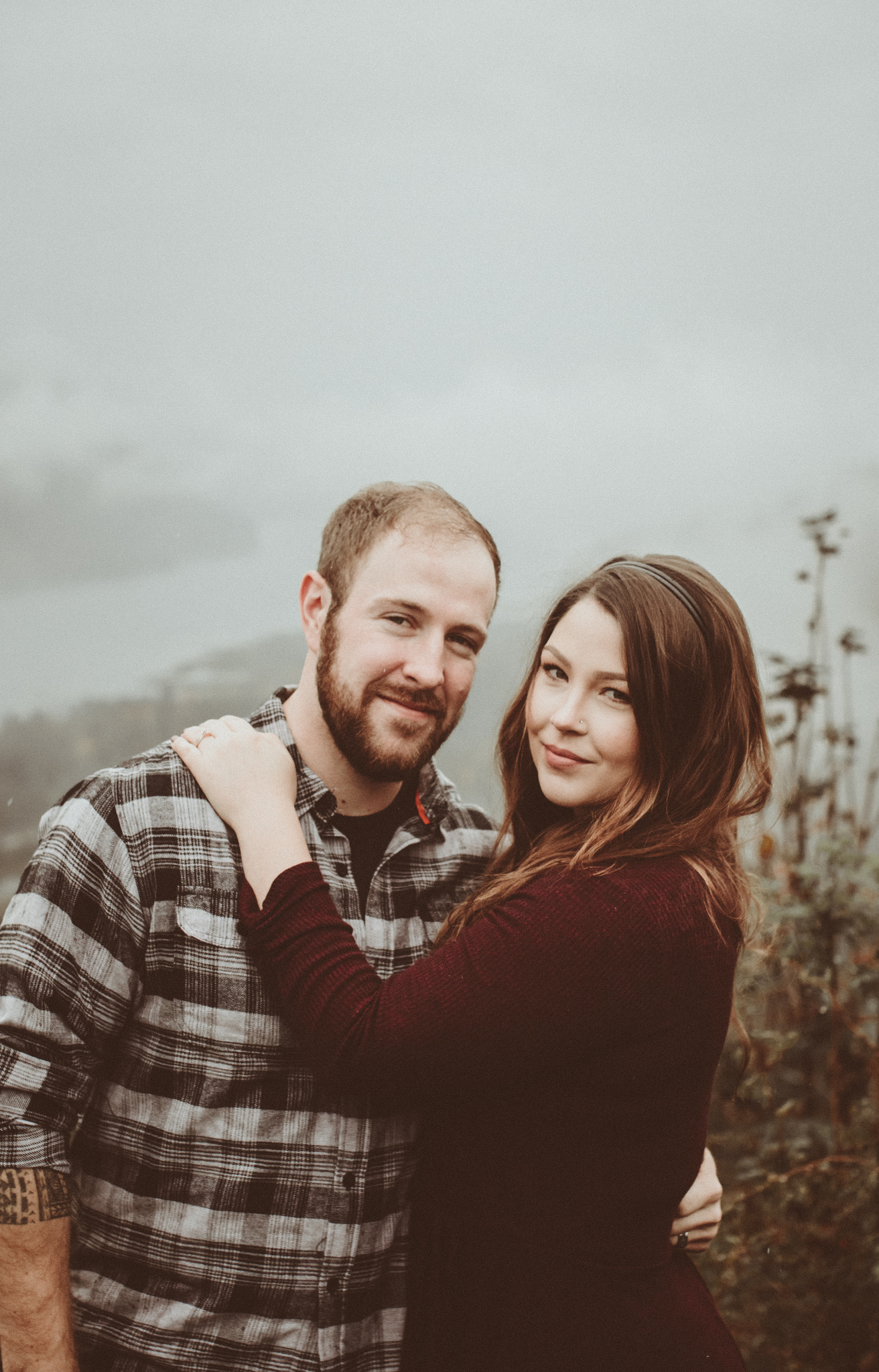 victoria columbia gorge engagement in the rain.  (12 of 125).jpg