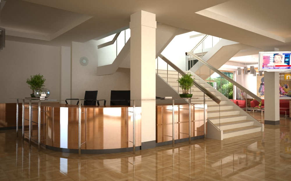 SEAMO- INNOTECH Main Building Lobby