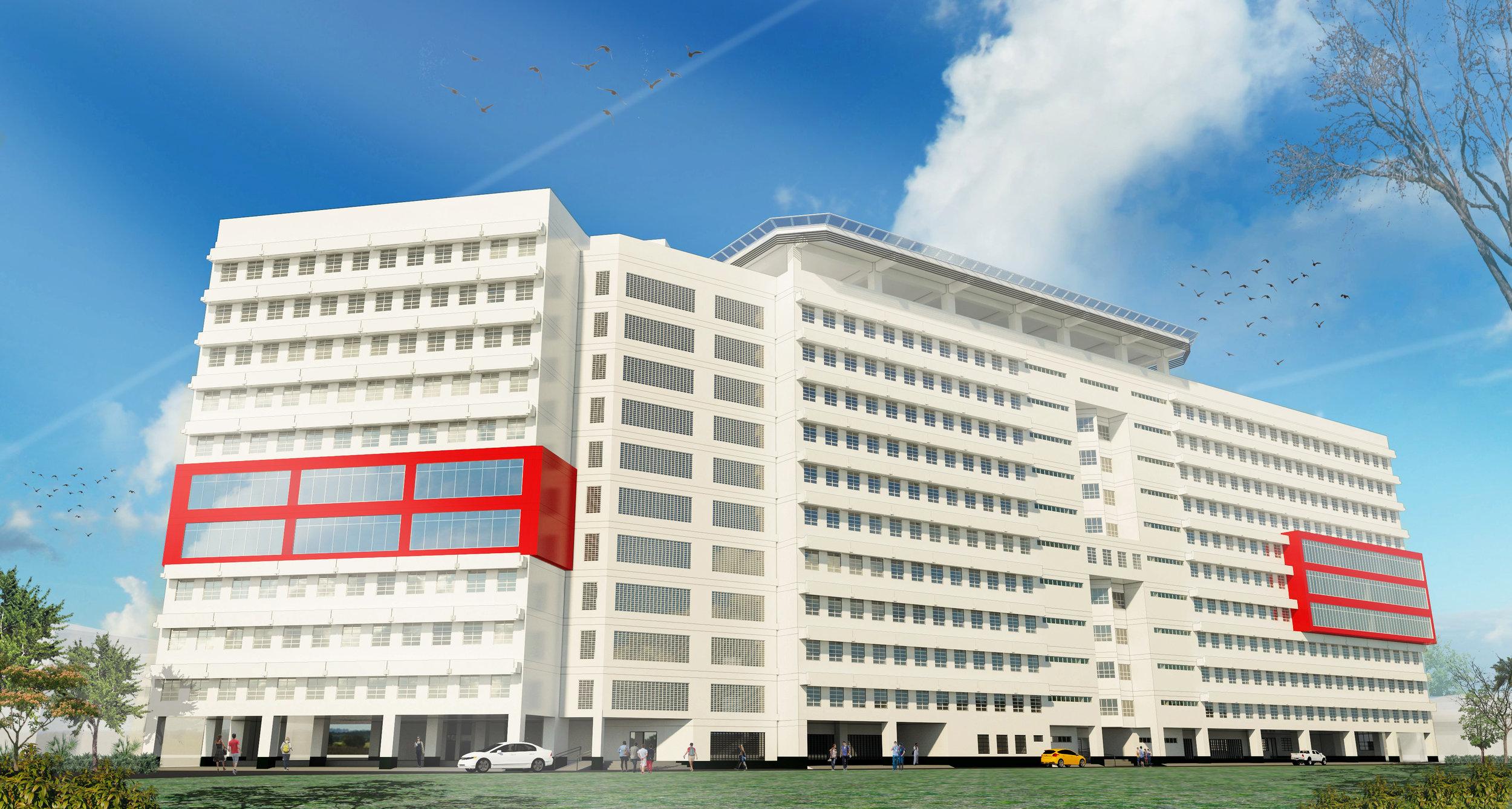 UE Tan Yan Kee Vertical Expansion
