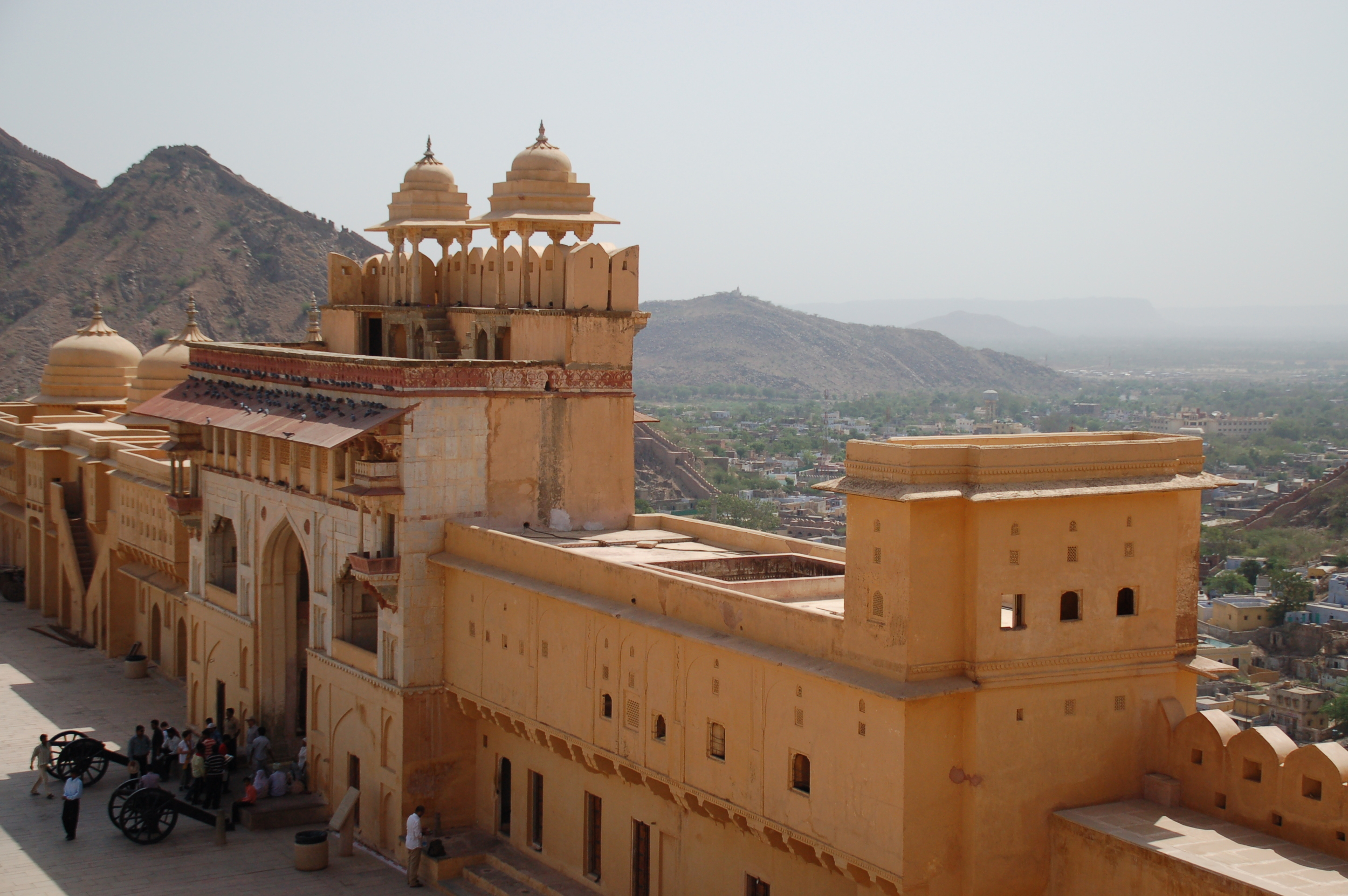 Sitting on top of Amber Fort
