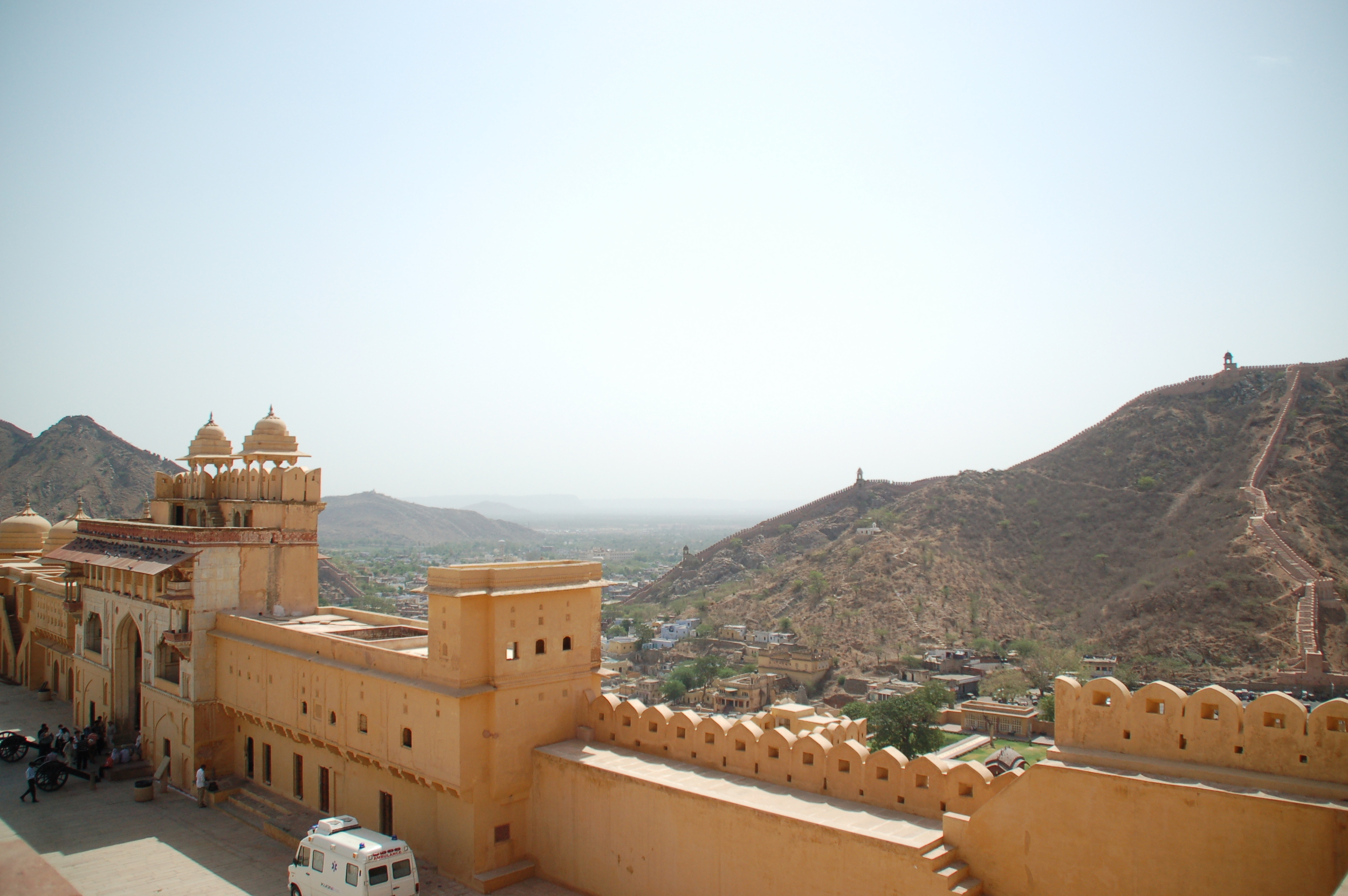 A Gorgeous View from Amber Fort