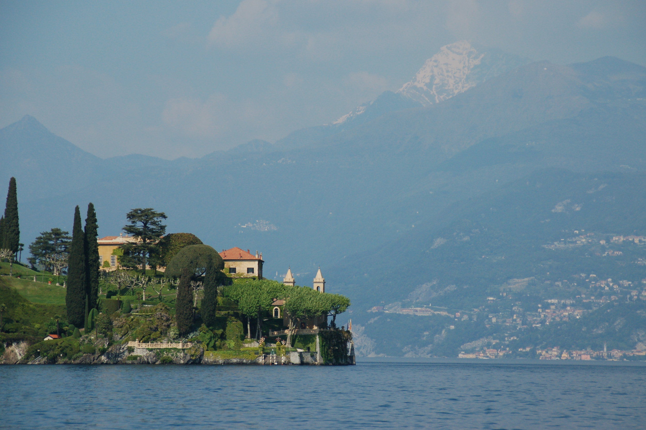 Mountains near Lake Como