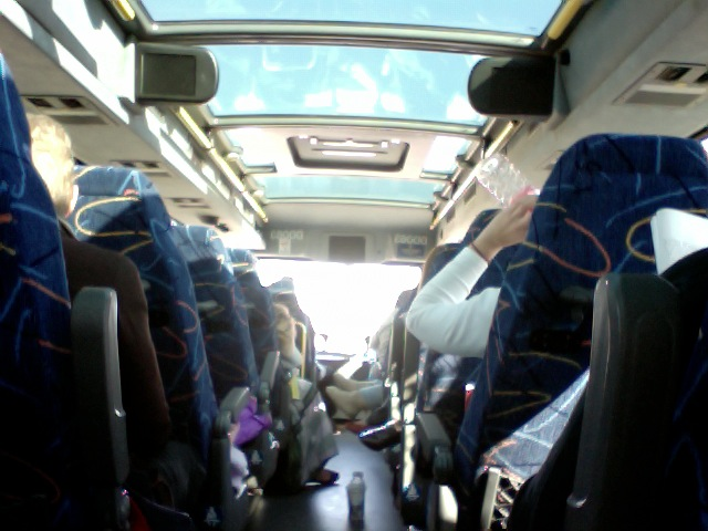 Megabus from Indy to Chicago