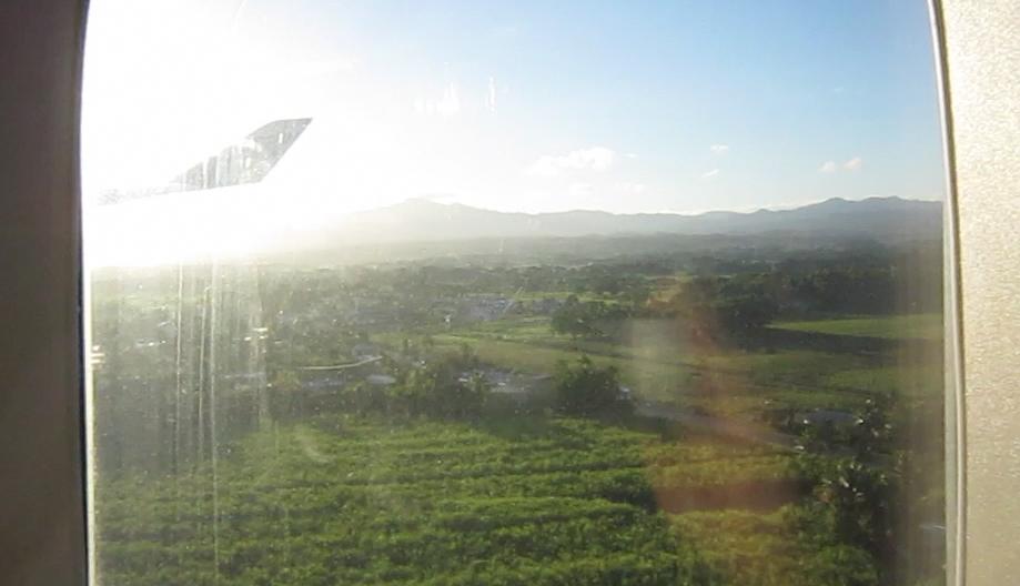 First glimpse of Fiji