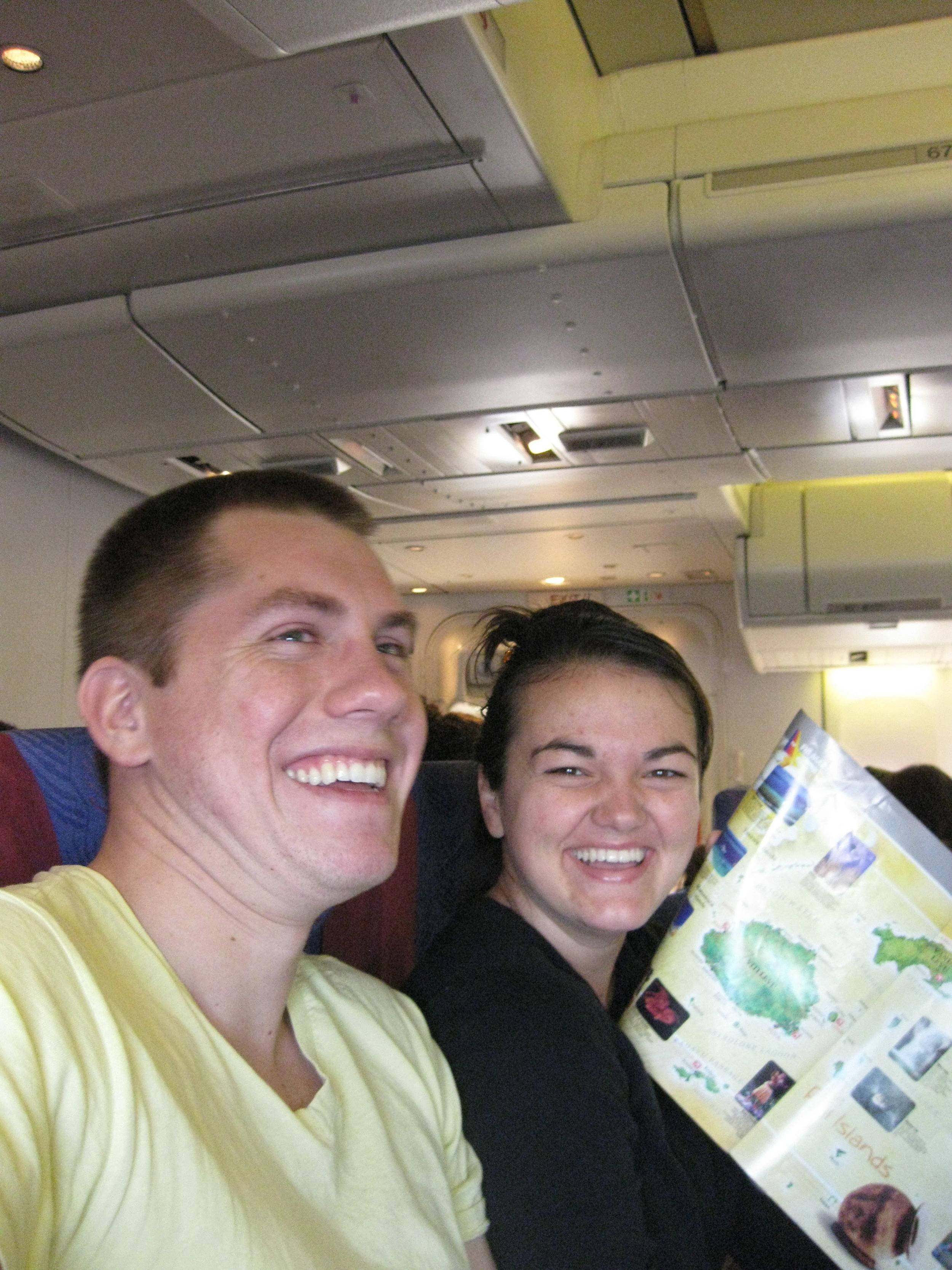 Landing in Fiji