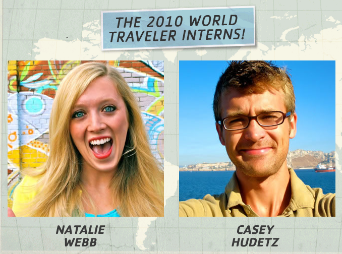 The New World Traveler Interns