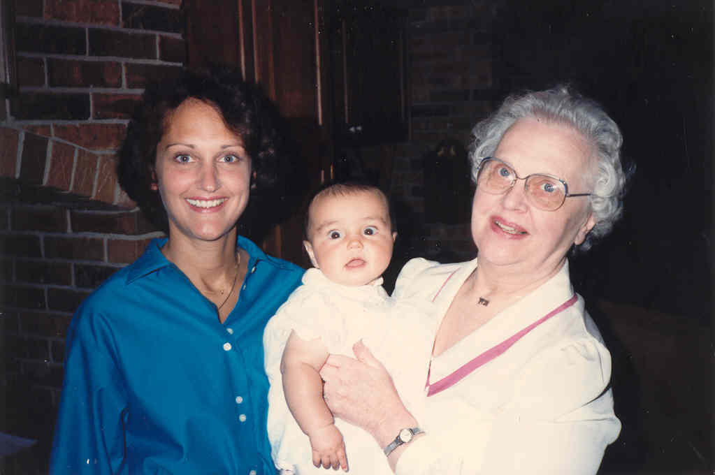 Margie, Lindsay, and Evelyn