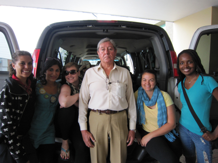 Hector, our driver in Mexico City