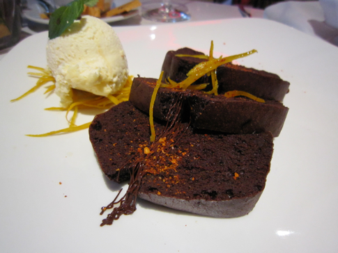 Flourless Chocolate Cake with Ancho Chilli