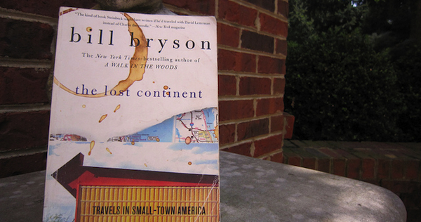 Bill Bryson book