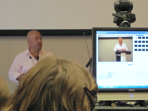 Andrew Zimmern at IUPUI