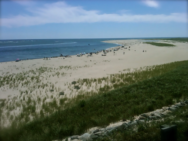 Cape Cod's Chatham coast where JAWS had some scenes filmed