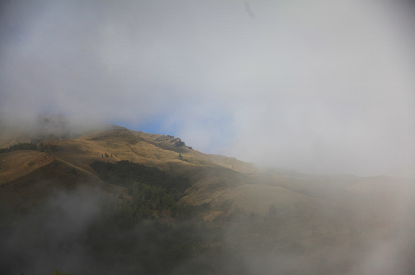 Ecuador, hills outside Cuenca